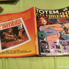 Cómics: TOTEM CALIBRE 38 SERIE NEGRA Nº 6. EDITORIAL NUEVA FRONTERA 1977. Lote 171527733