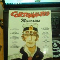 Cómics: CORTO MALTÉS. MEMORIAS - HUGO PRATT - TOTEM COMICS - CADA VEZ MÁS DIFÍCIL. Lote 173004422