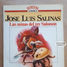 Cómics: LAS MINAS DEL REY SALOMÓN - JOSE LUIS SALINAS - GRANDES MAESTROS - JMV. Lote 179400888