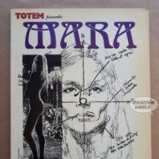 Cómics: MARA - ENRIC SIÓ - TOTEM PRESENTA - NUEVA FRONTERA - JMV. Lote 179531880
