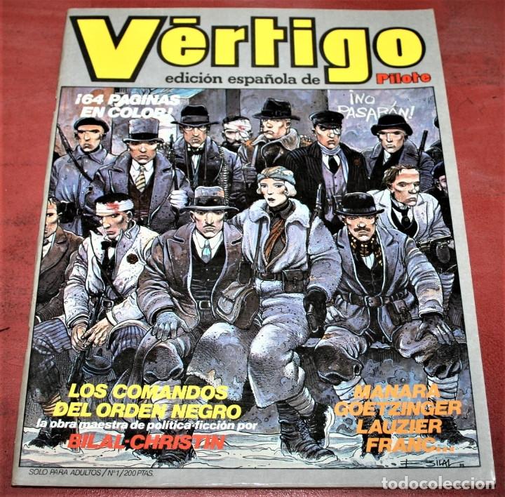 VÉRTIGO EDICIÓN ESPAÑOLA DE PILOTE Nº 1 - NUEVA FRONTERA 1982 (Tebeos y Comics - Nueva Frontera)