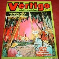 Cómics: VÉRTIGO EDICIÓN ESPAÑOLA DE PILOTE Nº 4 - NUEVA FRONTERA 1982. Lote 182728995