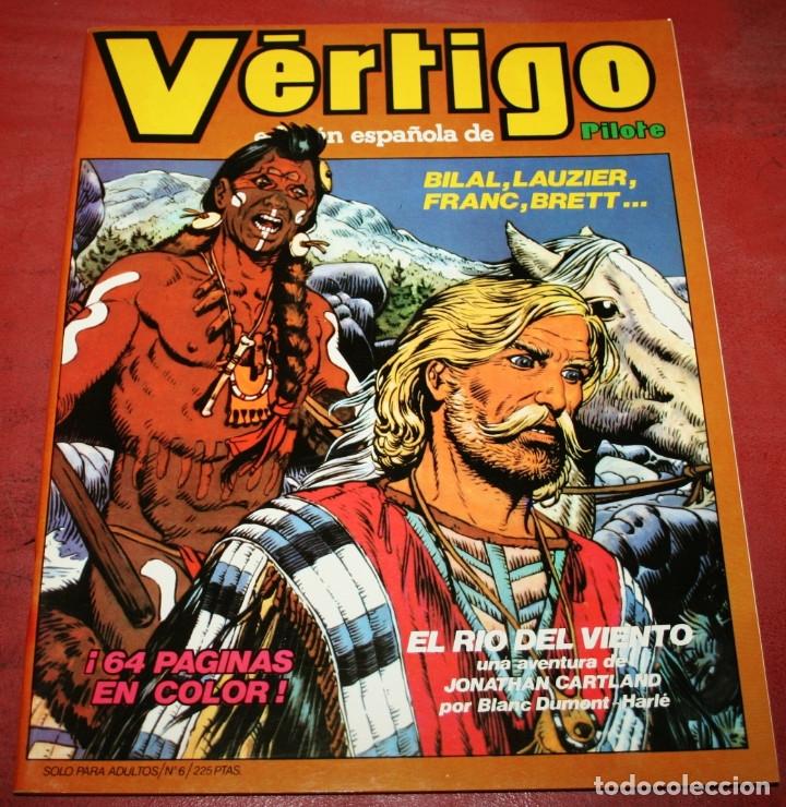 VÉRTIGO EDICIÓN ESPAÑOLA DE PILOTE Nº 6 - NUEVA FRONTERA 1982 (Tebeos y Comics - Nueva Frontera)