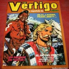 Cómics: VÉRTIGO EDICIÓN ESPAÑOLA DE PILOTE Nº 6 - NUEVA FRONTERA 1982. Lote 182729225