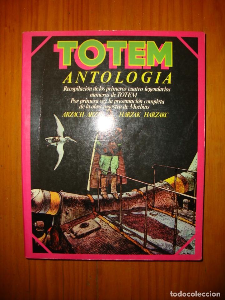 TOTEM. ANTOLOGÍA - RECOPILACIÓN DE LOS CUATRO PRIMEROS NÚMEROS (Tebeos y Comics - Nueva Frontera)