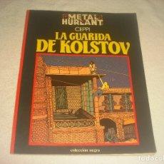 Cómics: METAL HURLANT 6, LA GUARIDA DE KOLSTOV , DANIEL CEPPI.. Lote 183335216