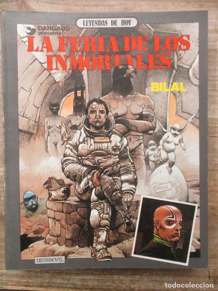LA FERIA DE LOS INMORTALES - ENKI BILAL - DARGAUD / METAL HURLANT (Tebeos y Comics - Nueva Frontera)