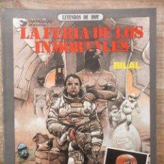 Cómics: LA FERIA DE LOS INMORTALES - ENKI BILAL - DARGAUD / METAL HURLANT. Lote 183363982
