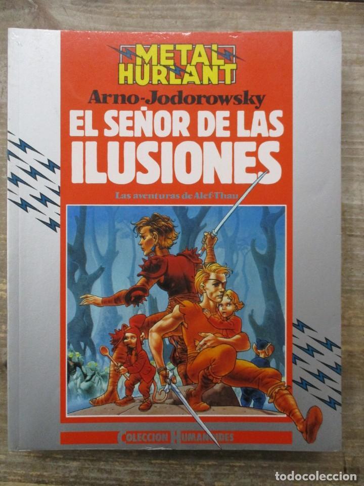 ALEF-THAU - EL SEÑOR DE LAS ILUSIONES - JODOROWSKY / ARNO - METAL HURLANT / HUMANOIDES (Tebeos y Comics - Nueva Frontera)