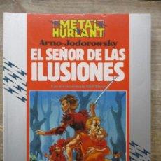 Cómics: ALEF-THAU - EL SEÑOR DE LAS ILUSIONES - JODOROWSKY / ARNO - METAL HURLANT / HUMANOIDES . Lote 183365500