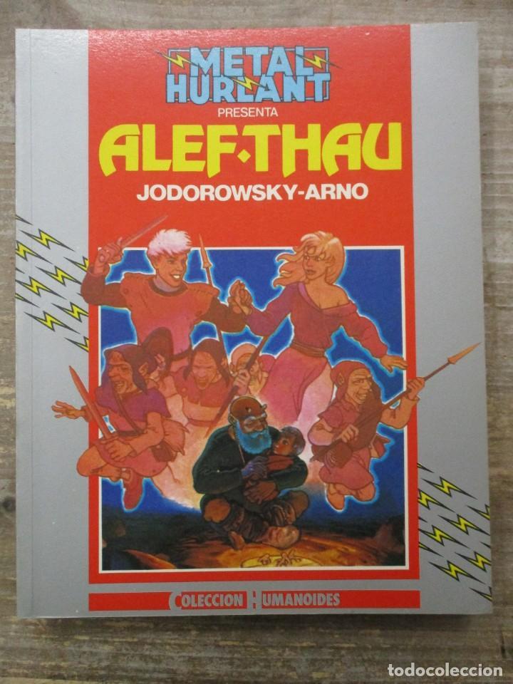 ALEF-THAU - ALEF THAU AVENTURAS - JODOROWSKY / ARNO - METAL HURLANT / HUMANOIDES (Tebeos y Comics - Nueva Frontera)