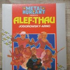Cómics: ALEF-THAU - ALEF THAU AVENTURAS - JODOROWSKY / ARNO - METAL HURLANT / HUMANOIDES . Lote 183365633