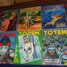 Cómics: TOTEM NºS 24 25 26 27 28 46 MOEBIUS Y MANARA. NUEVA FRONTERA 1977. REGALO Nº 18 NUEVA ÉPOCA. . Lote 183455066