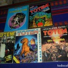 Cómics: TOTEM EXTRA 7 FIN DEL MUNDO, 8 ESPECIAL USA 3, 9 GUERRA, 11 METAL HURLANT. REGALO SUPER-TOTEM Nº 2.. Lote 183455346