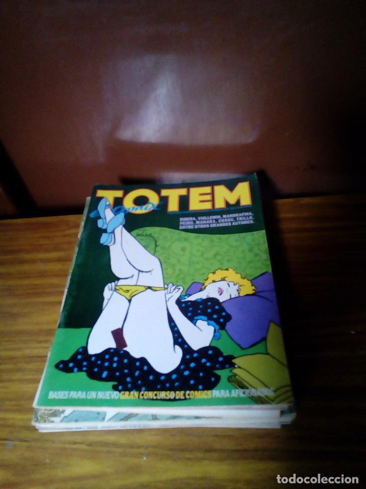 LOTE DE 8 COMICS TÓTEM (Tebeos y Comics - Nueva Frontera)