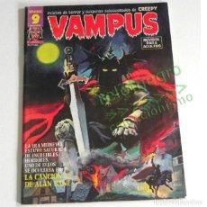 Cómics: VAMPUS Nº 48 CÓMIC TERROR SUSPENSE PARA ADULTOS -EN BUEN ESTADO Y LLEVA PÓSTER - SELECCIÓN DE CREEPY. Lote 183943823