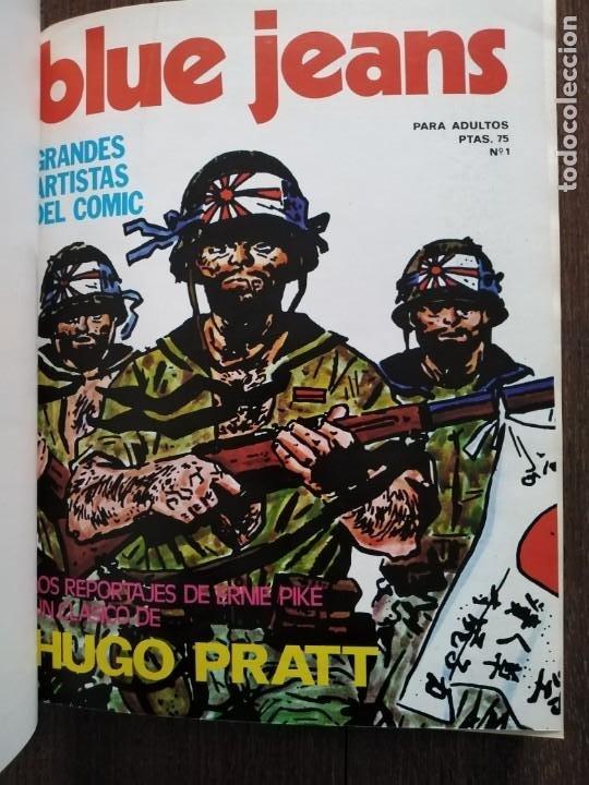 TOMO 8 PRIMEROS NUMEROS DE BLUE JEANS (Tebeos y Comics - Nueva Frontera)