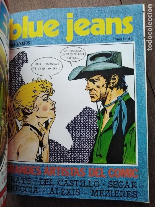 Cómics: TOMO 8 PRIMEROS NUMEROS DE BLUE JEANS - Foto 5 - 184926597