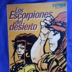 Cómics: LOS EXCORPIONES DEL DESIERTO - HUGO PRATT - BIBLIOTECA TOTEM. Lote 186250012