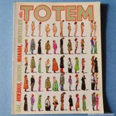Cómics: TOTEM - 40 - MANARA - MOEBIUS. Lote 190330673