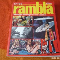 Cómics: RAMBLA 1, 2 Y 3 ANTOLOGIA DEL MEJOR COMIC ESPAÑOL ( GIMENEZ FONT ) ¡BUEN ESTADO!. Lote 190572226