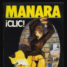 Cómics: BIBLIOTECA TOTEM EXTRA - EDITORIAL NUEVA FRONTERA / ¡CLIC! (MILO MANARA). Lote 191648590