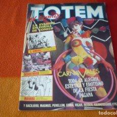 Cómics: TOTEM EL COMIX Nº 5 NUEVA EPOCA ( MANARA GIMENEZ ) ¡BUEN ESTADO! TOUTAIN. Lote 193538228