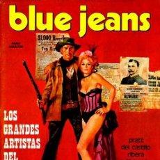 Cómics: BLUE JEANS - Nº 6 - A. BRECCIA-HUGO PRATT-JULIO RIBERA-DEL CASTILLO-TOPPI-1977-BUENO-DIFICIL-3063. Lote 206470435
