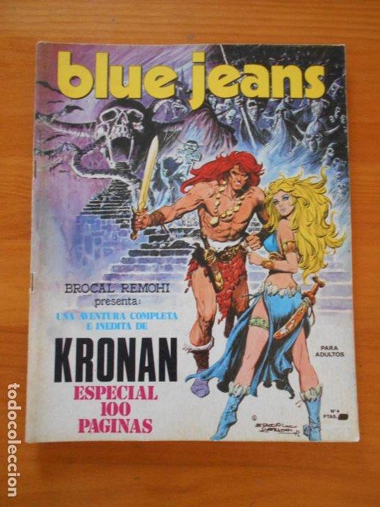 BLUE JEANS Nº 4 - NUEVA FRONTERA (IP) (Tebeos y Comics - Nueva Frontera)