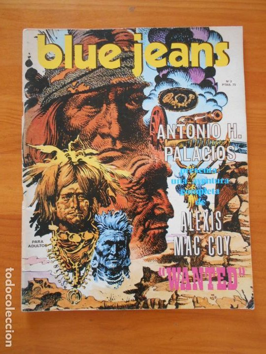 BLUE JEANS Nº 3 - NUEVA FRONTERA (IP) (Tebeos y Comics - Nueva Frontera)