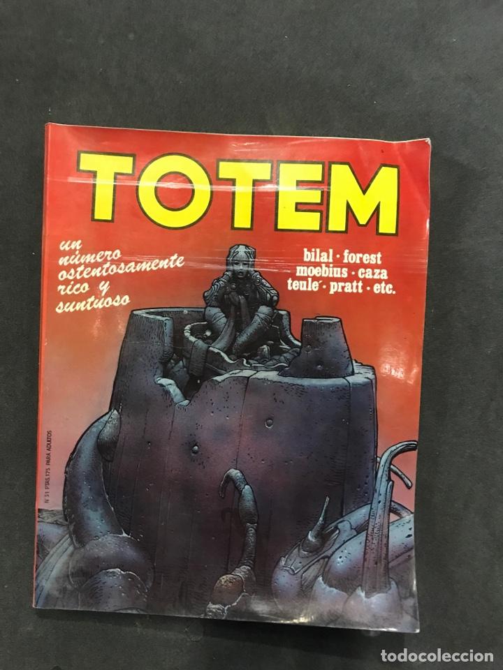 TÓTEM CÓMICS NÚMERO 31 DE 1977 (Tebeos y Comics - Nueva Frontera)
