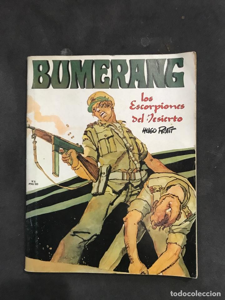 BUMERANG COMICS NÚMERO 6 DE 1978 (Tebeos y Comics - Nueva Frontera)