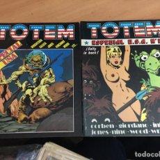 Cómics: TOTEM LOTE 2 ESPECIAL USA Nº 2 Y 6 (NUEVA FRONTERA) (COIB59). Lote 194536178