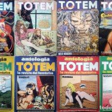 Cómics: LOTE TOTEM EL COMIX + ANTOLOGIA TOTEM - 18 NÚMEROS. Lote 194735871