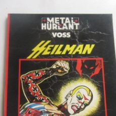 Cómics: METAL HURLANT COL. NEGRA Nº 1 HEILMAN (VOSS) EUROCOMIC CX43. Lote 194880570