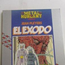 Cómics: EL ÉXODO / JEAN PLEYERS / COLECCIÓN HUMANOIDES 14 - METAL HURLANT / EUROCOMIC CX43. Lote 194887673