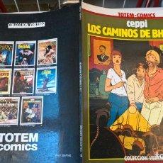 Cómics: COMIC: LOS CAMINOS DE BHARATA - CEPPI - TOTEM-COMICS - COLECCION VERTIGO Nº 8. Lote 194902980