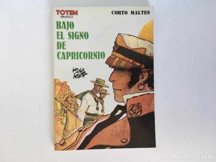 CORTO MALTÉS: BAJO EL SIGNO DE CAPRICORNIO DE HUGO PRATT. NUEVA FRONTERA. (Tebeos y Comics - Nueva Frontera)