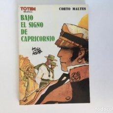 Cómics: CORTO MALTÉS: BAJO EL SIGNO DE CAPRICORNIO DE HUGO PRATT. NUEVA FRONTERA.. Lote 195118055