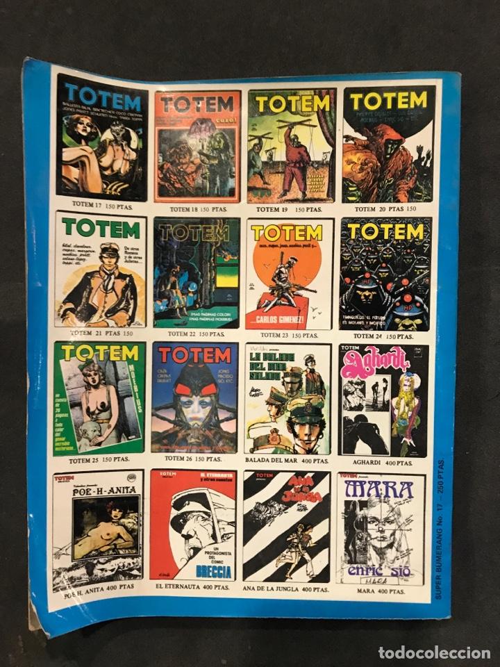 Cómics: BUMERANG COMICS NÚMERO 17 DE 1978 - Foto 2 - 195135792