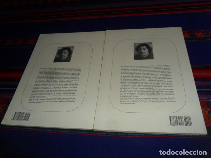 Cómics: BIBLIOTECA TOTEM 24 25 MILO MANARA LAS AVENTURAS AFRICANAS DE GIUSEPPE BERGMAN 1 Y 2. NUEVA FRONTERA - Foto 2 - 195177487
