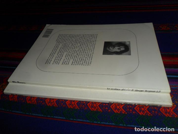 Cómics: BIBLIOTECA TOTEM 24 25 MILO MANARA LAS AVENTURAS AFRICANAS DE GIUSEPPE BERGMAN 1 Y 2. NUEVA FRONTERA - Foto 3 - 195177487