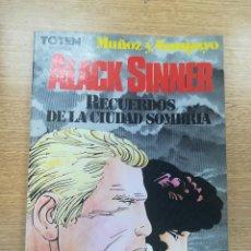 Cómics: ALACK SINNER RECUERDOS DE LA CIUDAD SOMBRIA (TOTEM BIBLIOTECA). Lote 195231622