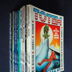 Cómics: TOTEM EXTRA, GRAN LOTE CON 17 VOLÚMENES. EDITORIAL NUEVA FRONTERA. VER IMÁGENES Y DESCRIPCIÓN. Lote 196210852