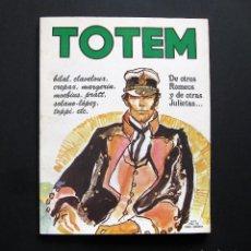 Cómics: TOTEM. LA REVISTA DEL NUEVO CÓMIC Nº 21. Lote 196984606