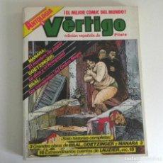 Cómics: ANTOLOGÍA 1 VÉRTIGO NÚMEROS 1 2 3 4 CÓMIC PARA ADULTOS ED. ESP. DE PILOTE ESPECIAL MANARA GOETZINGER. Lote 197231586