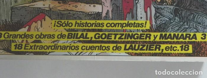 Cómics: ANTOLOGÍA 1 VÉRTIGO NÚMEROS 1 2 3 4 CÓMIC PARA ADULTOS ED. ESP. DE PILOTE ESPECIAL MANARA GOETZINGER - Foto 2 - 197231586