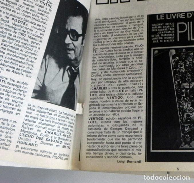 Cómics: ANTOLOGÍA 1 VÉRTIGO NÚMEROS 1 2 3 4 CÓMIC PARA ADULTOS ED. ESP. DE PILOTE ESPECIAL MANARA GOETZINGER - Foto 12 - 197231586