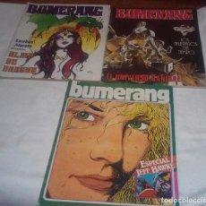 Cómics: LOTE 3 REVISTAS BUMERANG (NUMEROS 7- 12 Y ESPECIAL JEFF HAWKE). Lote 199866550