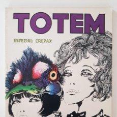 Fumetti: TOTEM Nº10 - ESPECIAL CREPAX - LA REVISTA DELNUEVO COMIC - NUEVA FRONTERA - AÑO 1977 - BUENA. Lote 199959037
